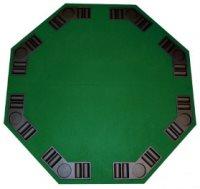 Da vinci 8 player octagon folding poker table top
