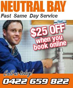 Neutral Bay Plumbing Service