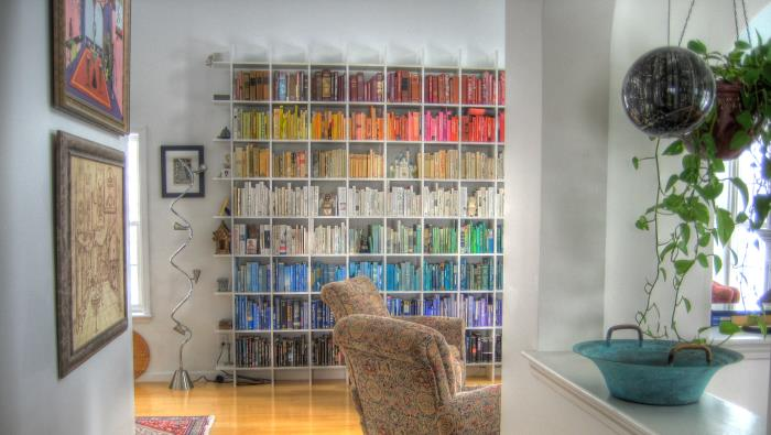 Wall Space Is Important And A Great Way To Utilise Extra Storage Use It Bookshelf That Covers An Entire Good Investment Will