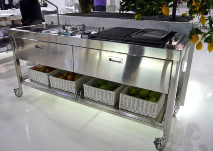 Beau Kitchen Worktop Stainless Steel