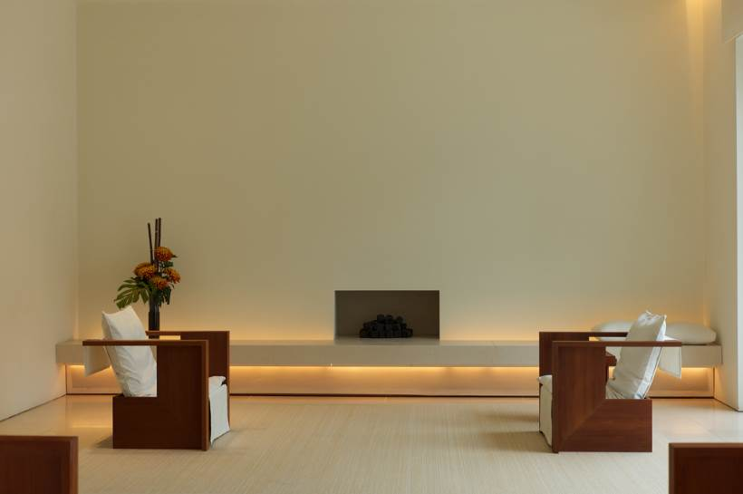fireplace focal point in living room