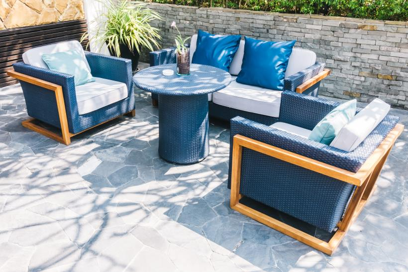 Outdoor Furniture Example - Have a Spring Ready Backyard in 5 Easy Steps