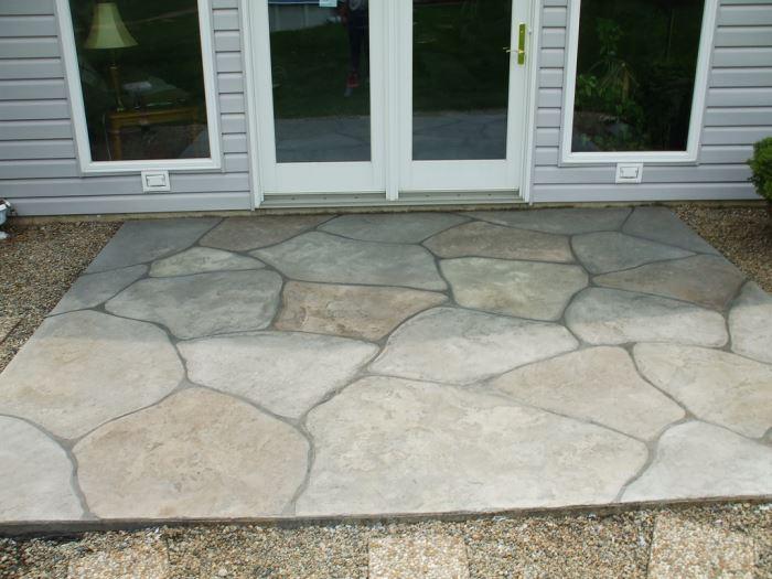 Faux Tiles   Stamped Concrete