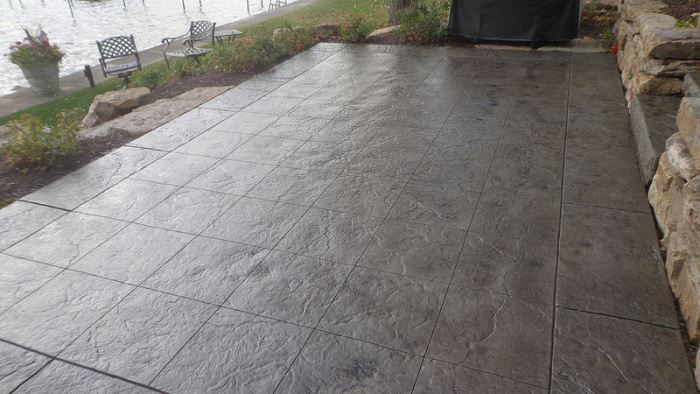 Nice Faux Tiles   Stamped Concrete