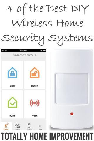 DIY Wireless Home Security Systems
