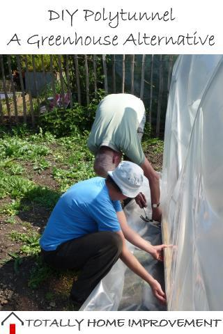 DIY Polytunnel - A Greenhouse Alternative
