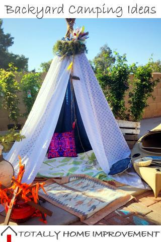 Backyard Camping Ideas For Fun With The Kids