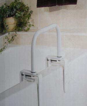 Example of a bath safety rail
