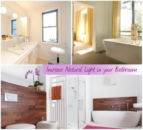 Increase Natural Light in your Bathroom