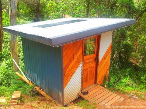 I. The Outdoor Bathroom in the Australian Bush   Totally Home Improvement