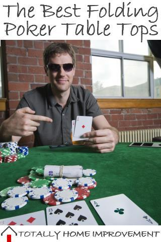 The Best Portable Folding Poker Table Tops