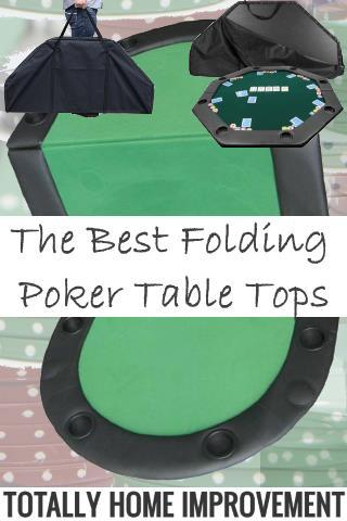 Folding Poker Table Tops