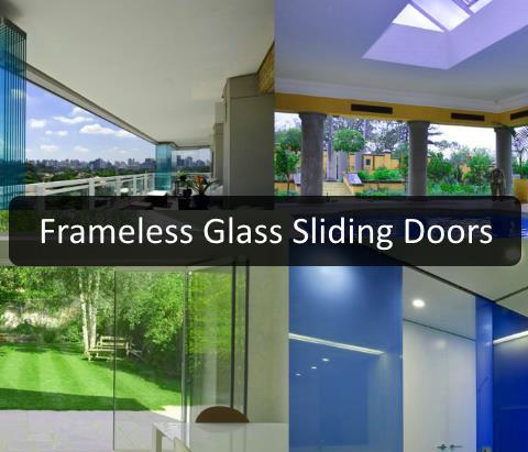Frameless Glass Sliding Doors