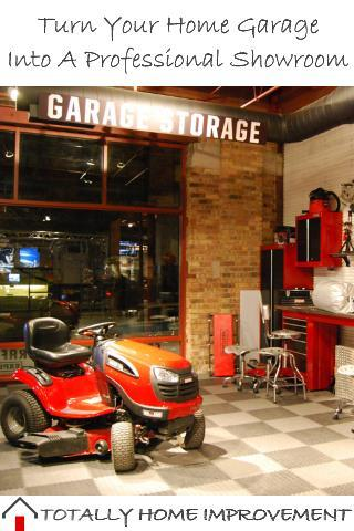 Turn Your Home Garage Into A Professional Showroom