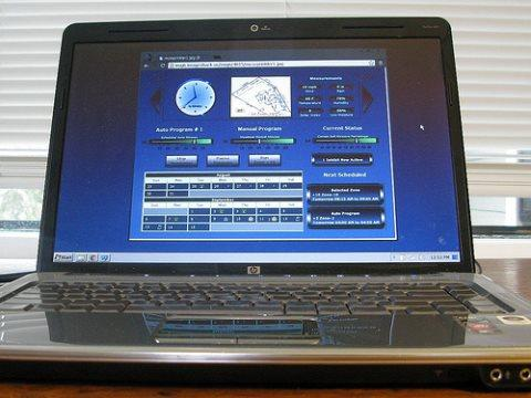 Home automation with old laptop