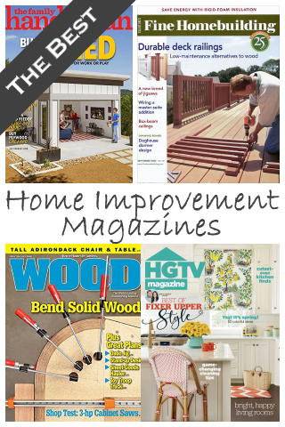 The Best Home Improvement Magazines