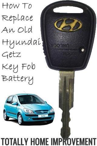 Diy Hyundai Getz Key Fob Battery Replacement Totally Home Improvement