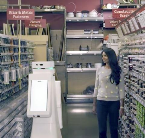 Lowe's Hardware Store Robot