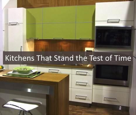 A modern-retro kitchen