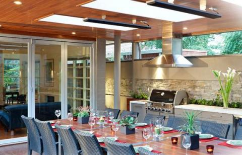 radiant heaters for the patio