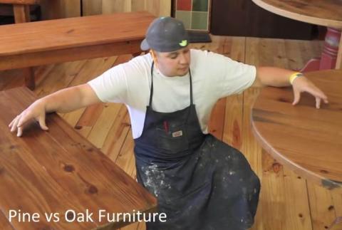 oak wood for furniture. Unique Furniture Oak Vs Pine For Furniture To Wood For