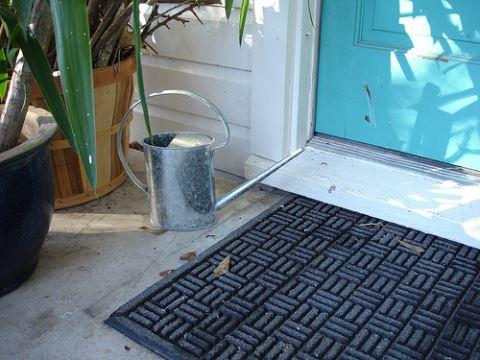 rubber entrance mat