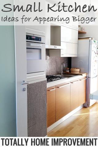 Small Kitchen Ideas for Appearing Bigger