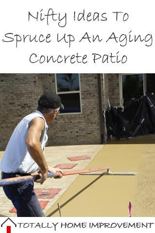 Nifty Ideas To Spruce Up An Aging Concrete Patio