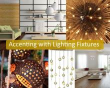 Accenting with Lighting Fixtures