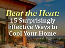 15 Surprisingly Effective Ways to Cool Your Home