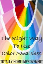 The Right Way To Use Color Swatches
