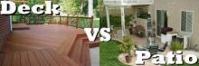 Deck vs Patio