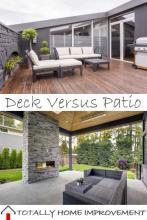 Deck Versus Patio