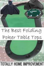 Folding Poker Table Tops
