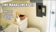 Home improvement jokes - fuse toilet