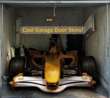A cool garage door skin