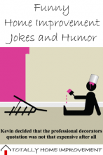 Funny Home Improvement Jokes, Humor, and Oddities