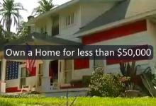 It's possible to build a house for less than $50,000!