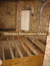 Mistakes Renovators Make