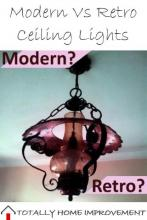 Modern Vs Retro Ceiling Lights