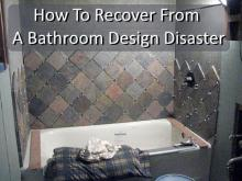 bathroom design disaster
