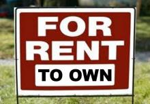 Rent to buy a house