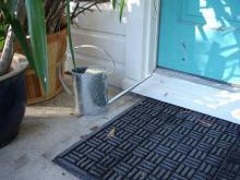 rubber entrance mat