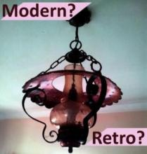 Modern Retro Rustic Lighting