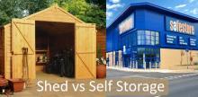 Shed vs Self Storage