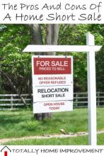 The Pros And Cons Of A Home Short Sale